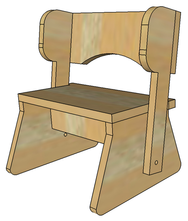 Kids Chair / Step Stool  sc 1 st  Jacks Furniture Plans & Folding Step Stool Plans or Pattern for the Kids. Complete Video ... islam-shia.org